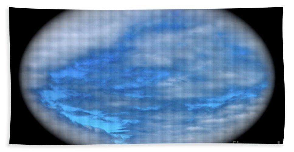 Clouds Beach Towel featuring the photograph Beyond The Clouds by Rick Monyahan