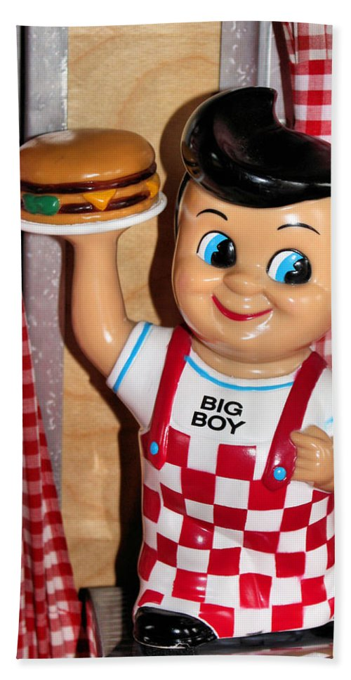 Toy Beach Towel featuring the photograph Big Boy by Kristin Elmquist