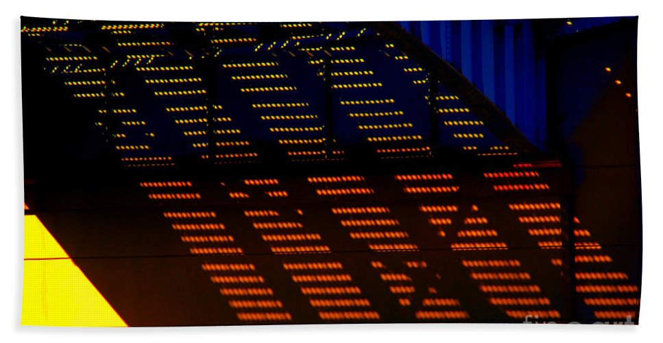 Bridge Beach Towel featuring the photograph Bridge Architecture by Susanne Van Hulst