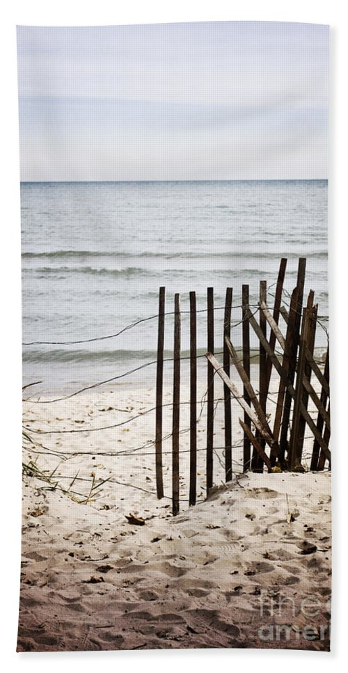 Alone Beach Towel featuring the photograph Broken by Margie Hurwich