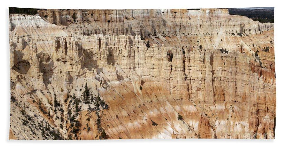 Sandra Bronstein Beach Towel featuring the photograph Bryce Canyon Vista by Sandra Bronstein
