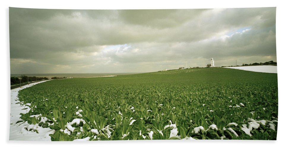 Landscape Beach Towel featuring the photograph Kent In England by Shaun Higson