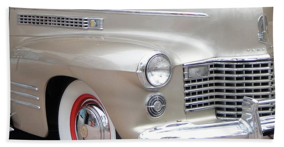Auto Beach Towel featuring the photograph Caddy by Kevin Fortier