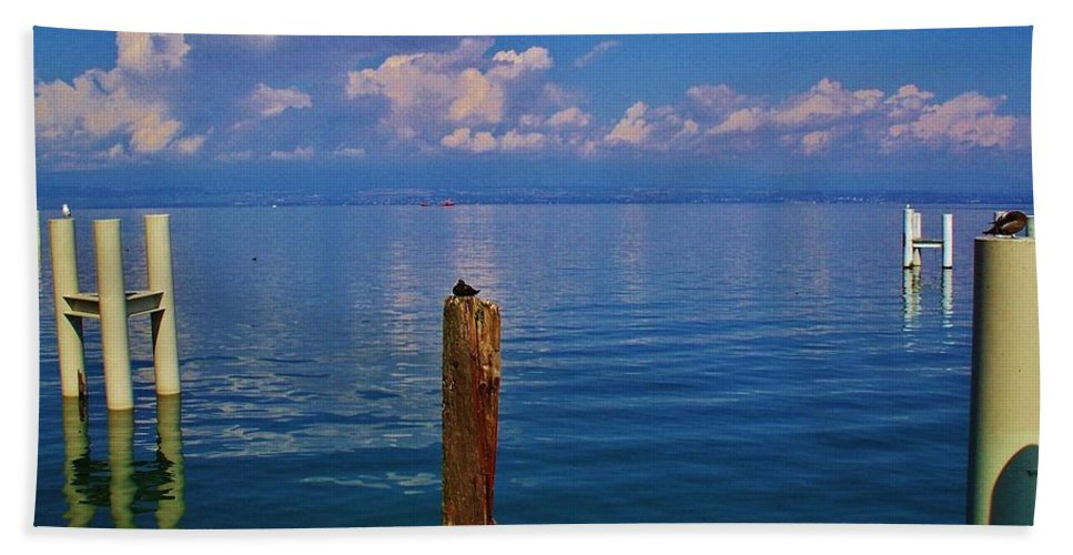 Cap Ferret Beach Towel featuring the photograph Cap Ferret by Dany Lison