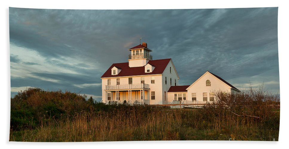 Cape Cod Beach Towel featuring the photograph Cape Cod Coast Guard Station by John Greim