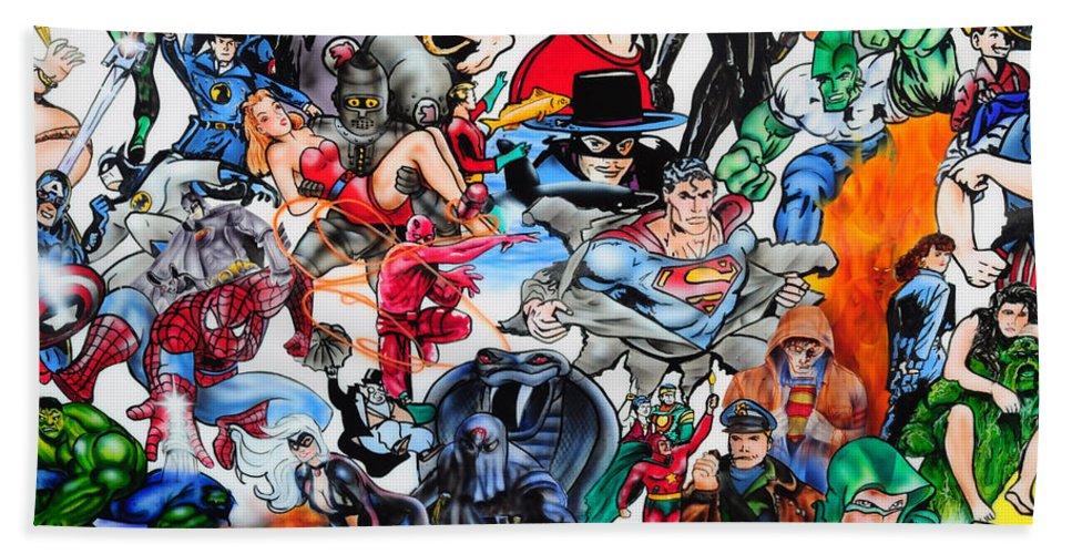 Cartoon Car Beach Towel featuring the photograph Cartoon Car Detail by Dave Mills
