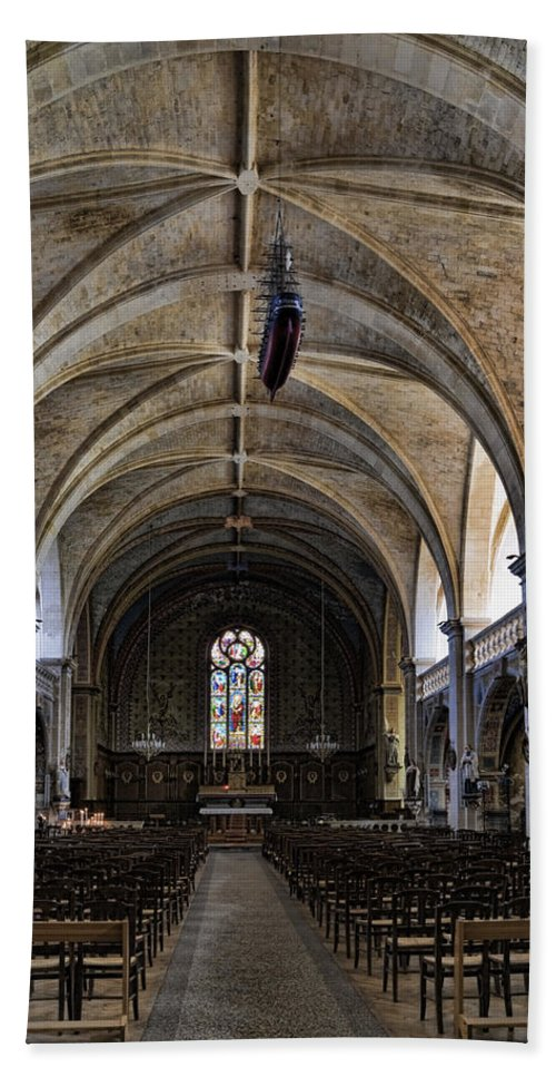 Centuries Old Church Beach Towel featuring the photograph Centuries Old Church by Wes and Dotty Weber