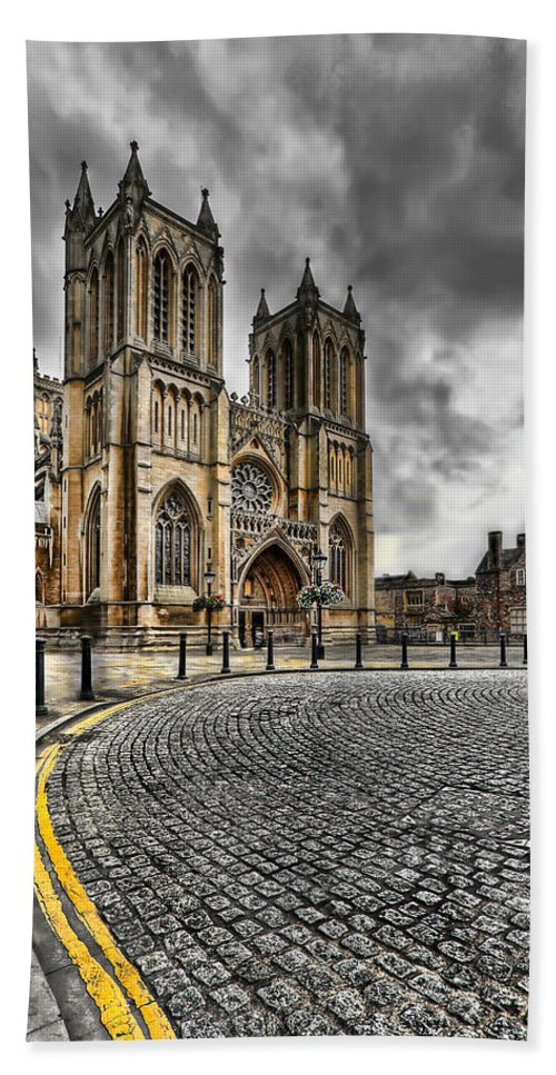 Hdr Beach Towel featuring the photograph Church Of England by Adrian Evans