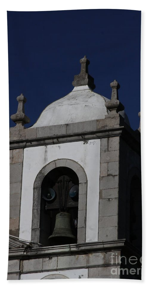 Church Beach Towel featuring the photograph Church Steeple by Darleen Stry