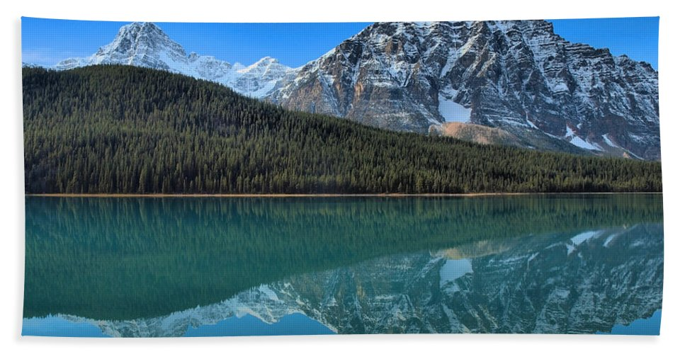 Banff Beach Towel featuring the photograph Clarity by Tara Turner