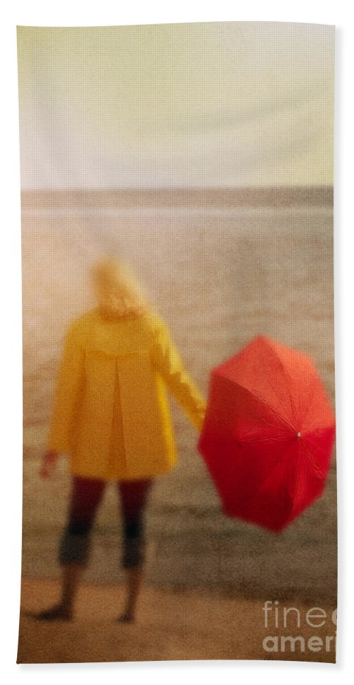 Woman Beach Towel featuring the photograph Clearing by Margie Hurwich