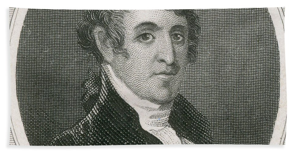 Continental Army Beach Towel featuring the photograph Colonel David Humphreys by Photo Researchers