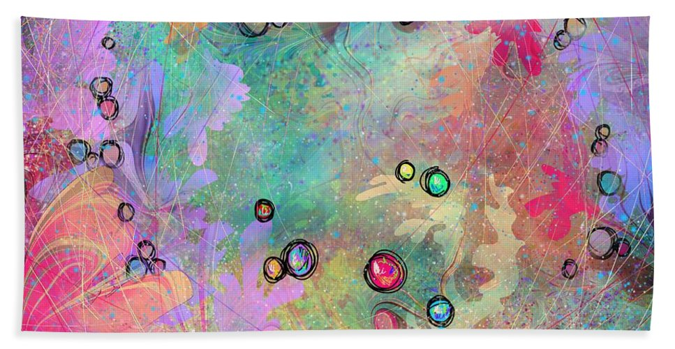 Community Beach Towel featuring the digital art Community by William Russell Nowicki