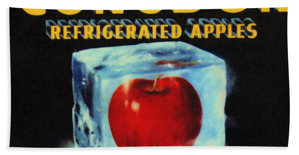 Antique Beach Towel featuring the photograph Congdon Refrigerated Apples by Kristin Elmquist