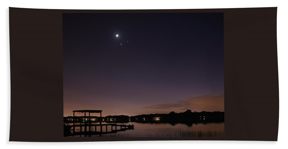 Conjunction Beach Towel featuring the photograph Conjunction by Matt Merritt