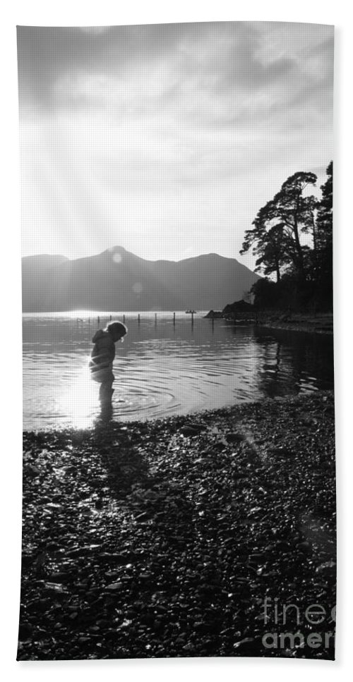 Lake District Beach Towel featuring the photograph Derwent by Linsey Williams