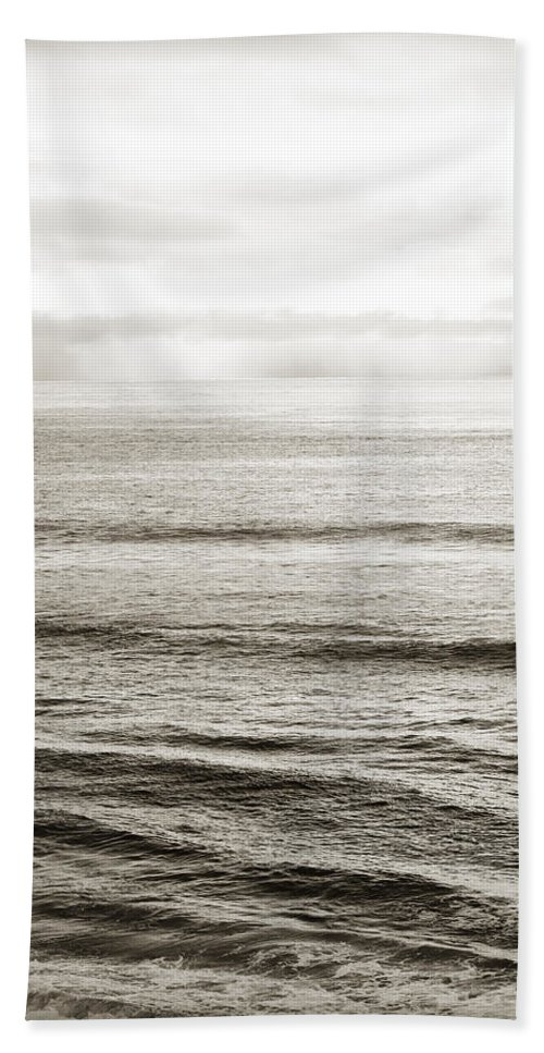Calm Beach Towel featuring the photograph Distant Horizon by Marilyn Hunt