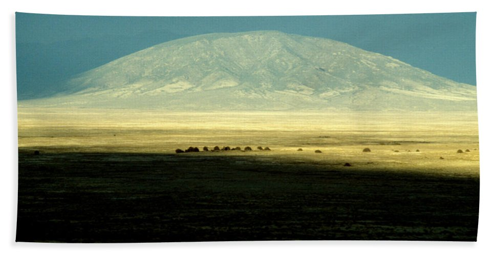 Mountain Beach Towel featuring the photograph Dome Mountain by Brent L Ander