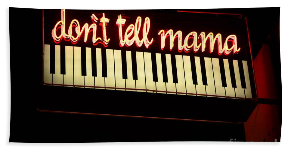 Dont Tell Mama Beach Towel featuring the photograph Dont Tell Mama by Bob Christopher