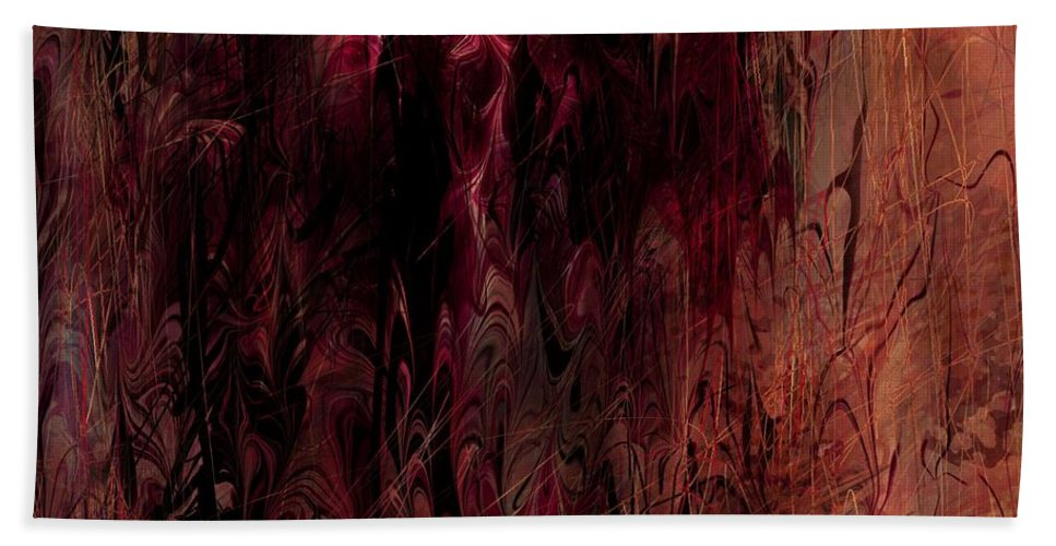 Dreams Beach Towel featuring the digital art Dreams Forgotten by Rachel Christine Nowicki