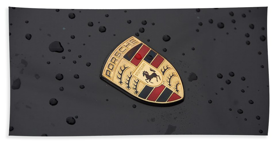 Automobiles Beach Towel featuring the photograph Drizzle by John Schneider