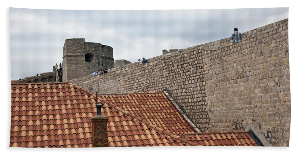 Dubrovnik Beach Towel featuring the photograph Dubrovnik View 4 by Madeline Ellis