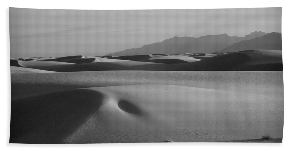 New Mexico Beach Towel featuring the photograph Dunes 5 by Sean Wray