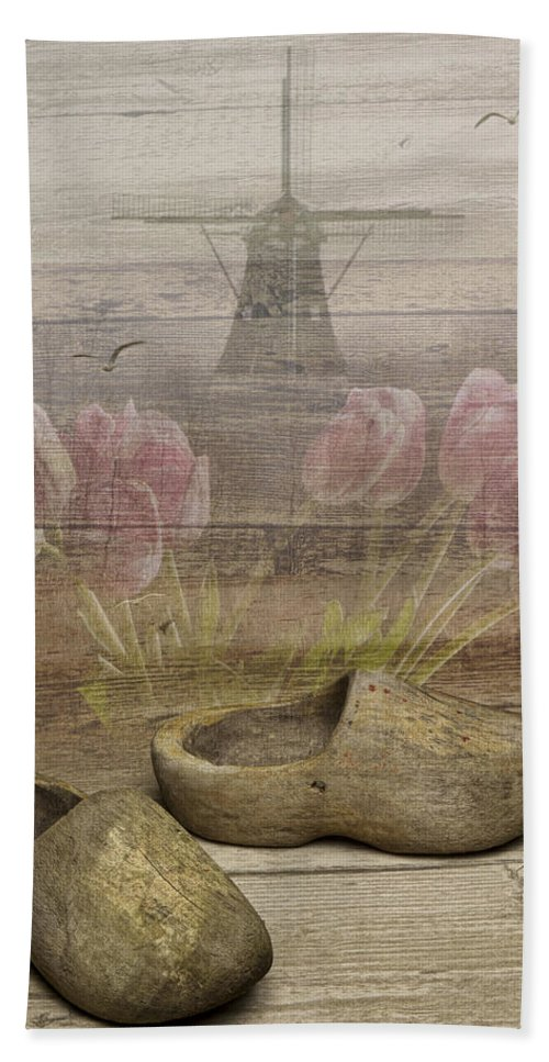 Art Beach Towel featuring the photograph Dutch Heritage by Randall Nyhof