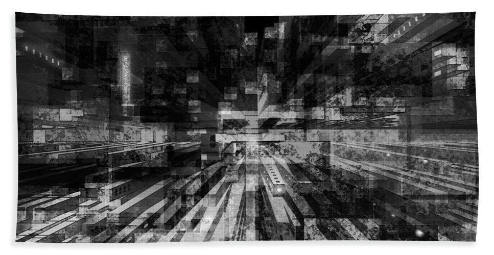 Ron Jones Beach Towel featuring the digital art Empire by Ron Jones