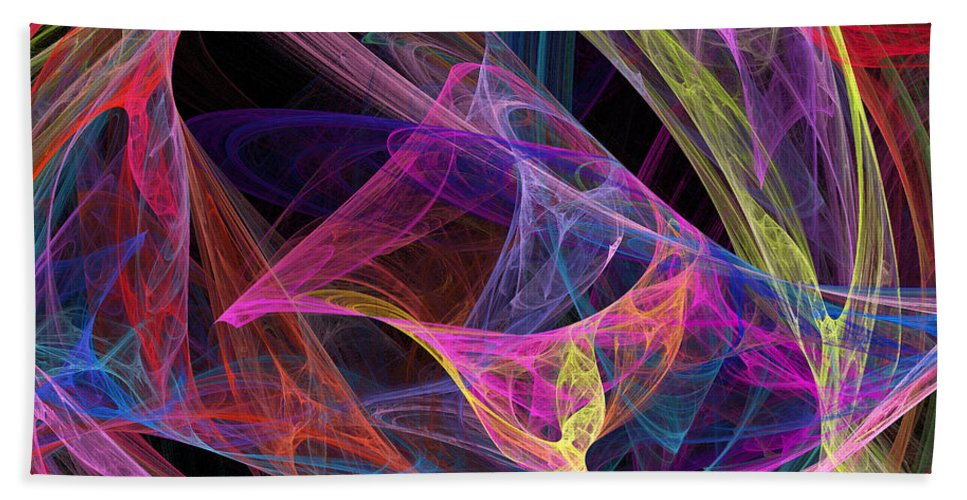 Energy Beach Towel featuring the photograph Energetic by Ricky Barnard