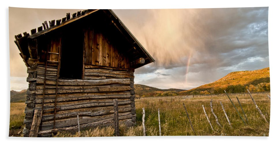 Durango Beach Towel featuring the photograph Evening Storm by Jeffrey Kolker