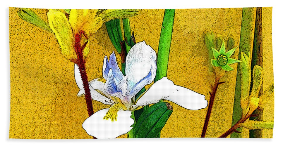 Flowers Beach Towel featuring the photograph Exotic Flowers by Jerome Stumphauzer