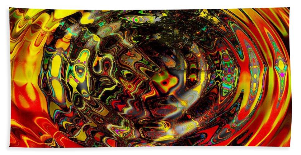 Wild Beach Towel featuring the digital art Extra Sensory Perception by Robert Orinski