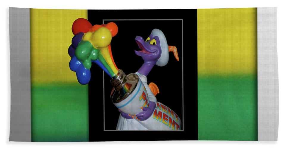 Out Of Bounds Beach Towel featuring the photograph Figments Rainbow Of Colors by Thomas Woolworth
