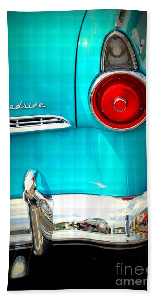 Ford Beach Towel featuring the photograph Ford Overdrive by Susanne Van Hulst