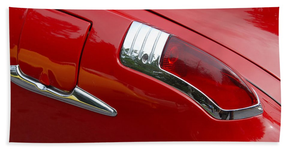 Automobiles Beach Towel featuring the photograph Forty Nine Buick by John Schneider