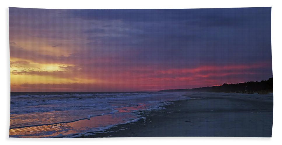 Beach Beach Towel featuring the photograph Four Minutes On The Beach by Phill Doherty
