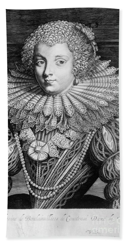 17th Century Beach Towel featuring the photograph France: Noblewoman by Granger