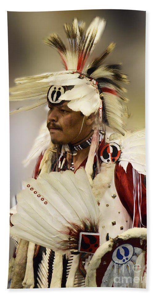 Pow Wow Beach Towel featuring the photograph Pow Wow Glory Days by Bob Christopher