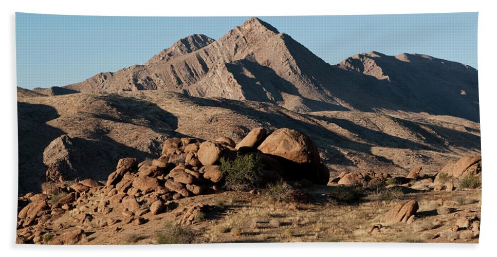 Gold Butte Region Beach Towel featuring the photograph Golden Gold Butte by Lorraine Devon Wilke