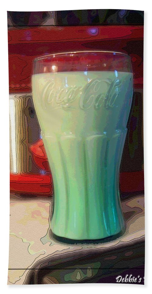 Still Life Beach Towel featuring the photograph Got Milk by Debbie Portwood