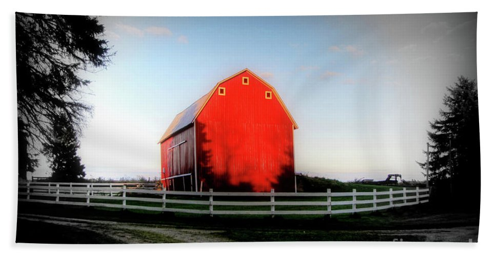 Country Beach Towel featuring the photograph Graded On A Curve by September Stone