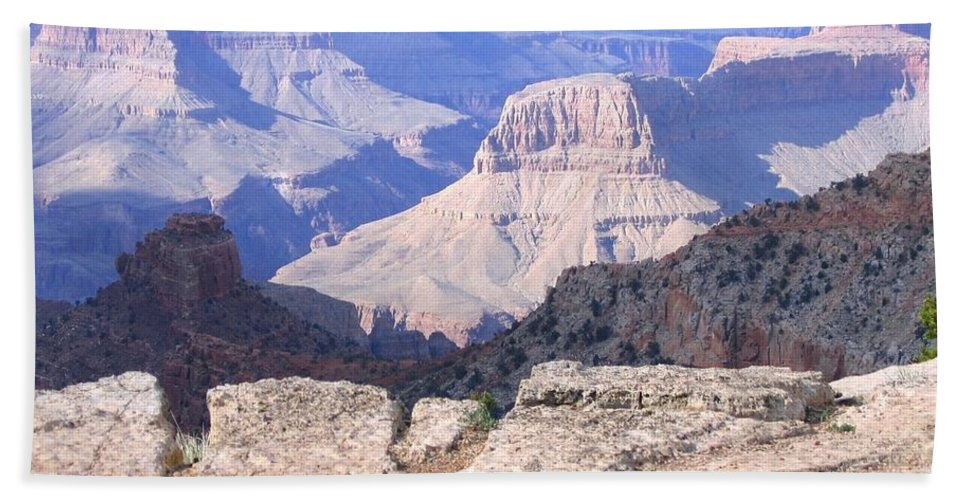 Grand Canyon Beach Towel featuring the photograph Grand Canyon 17 by Will Borden