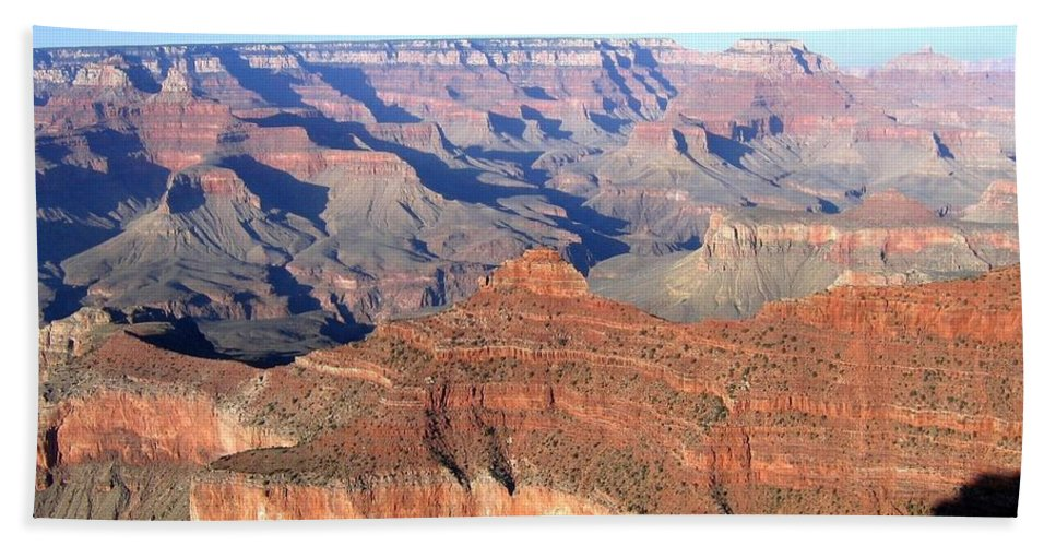Grand Canyon Beach Towel featuring the photograph Grand Canyon 20 by Will Borden