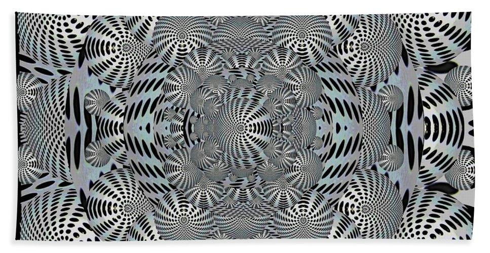 Ball Beach Towel featuring the digital art Having A Ball by Tim Allen