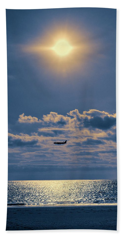 Canary Islands Beach Towel featuring the photograph Holy Trinity Of Tourism by Jouko Lehto