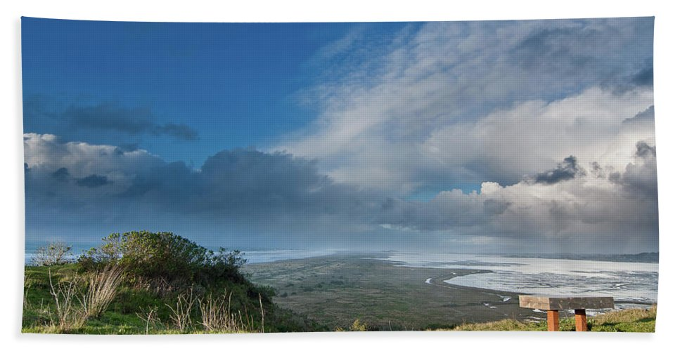Landscape Beach Towel featuring the photograph Humboldt Views by Greg Nyquist