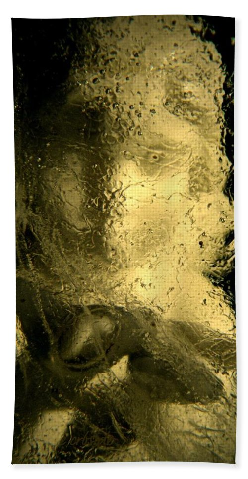 Surreal Beach Towel featuring the photograph Ice Angel by Chris Berry