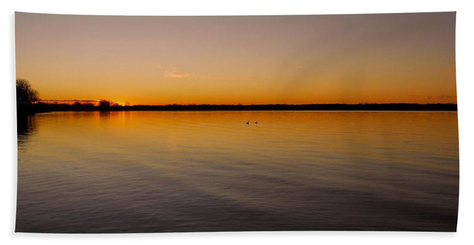 North America Beach Towel featuring the photograph Ile-bizard - Quebec by Juergen Weiss
