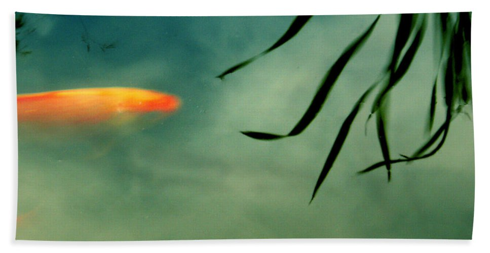 Fish Beach Towel featuring the photograph Illusion by Aimelle